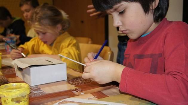 Tvořivá dílna v Naději pro děti i dospělé
