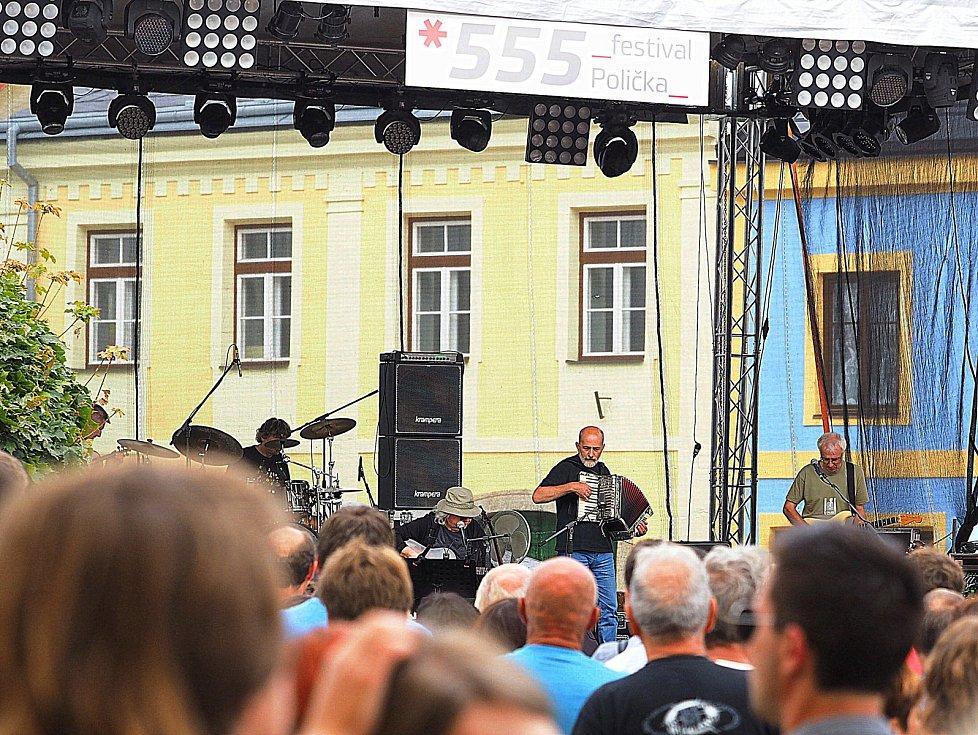 Festival 555 v Poličce.
