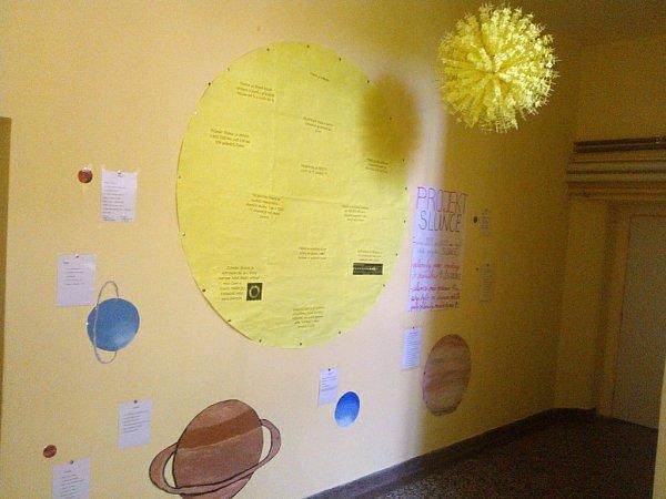 Projekt Slunce na základní škole vJaroměřicích.