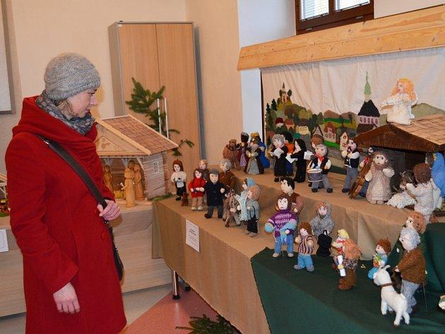 Výstava betlémů v Bystrém.