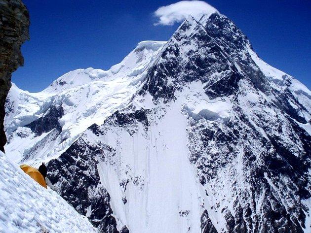 K2 při sestupu.
