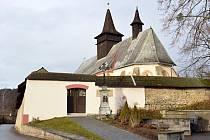 Kostel svatého Jana Křtitele v Širokém Dole prochází rekonstrukcí už několik let.