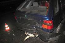 Za nehodu mohl opilý řidič.
