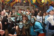 Nejlepší maskou v Pusté Kamenici byl Avatar.