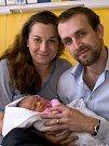 ANEŽKA HORÁKOVÁ. Narodila se 11. března Ludmile a Jakubovi ze Stašova. Měřila 52 centimetrů a vážila 3,55 kilogramu.