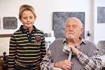Olbram Zoubek ukončil sezonu v zámeckém sklepení v Litomyšli a znovu tak oslavil s návštěvníky své 85. narozeniny.