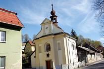 Kaple v Březové.