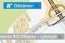 ŘEDITELSTVÍ SILNIC A DÁLNIC podrobně informuje o výstavbě dálnice D35. Do jedné z map se vloudila chyba, která pobavila na internetu. Vzhledem k tomu, jaká se vede diskuse ohledně výstavby této komunikace, musí lidé doufat, že to je chyba jediná.