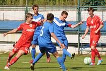Svitavští fotbaloví žáci U15 si opět po roce sáhli na Pohár předsedy Pardubického krajského fotbalového svazu.