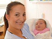 KLAUDIE VOŽENÍLKOVÁ. Narodila se 23. září Barboře Voženílkové a Davidu Zábojníkovi z Litomyšle. Měřila 53 centimetrů a vážila 3,9 kilogramu.