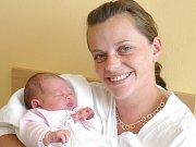 ALICE NAVRÁTILOVÁ. Rodina Anety, Petra a čtyřletého Tadeáše z Biskupic se od 21. srpna 3.38 hodin raduje z narození holčičky. Vážila 3,15 kilogramu a měřila 47 centimetrů.
