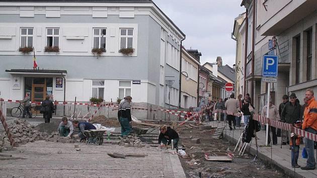 Opravy v Poličce. Ilustrační foto