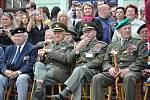 Střední vojenská škola v Moravské Třebové slavila 75 let od založení. Prváci složili na náměstí slib.