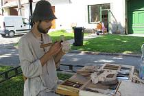 Řezbáři se sjeli do Bystrého na Wood art 2008