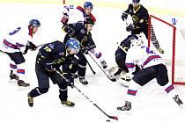 Nuda to rozhodně nebyla. Půl čtvrté stovky fanoušků na stadionu v Litomyšli zažilo pozoruhodný hokejový večer.