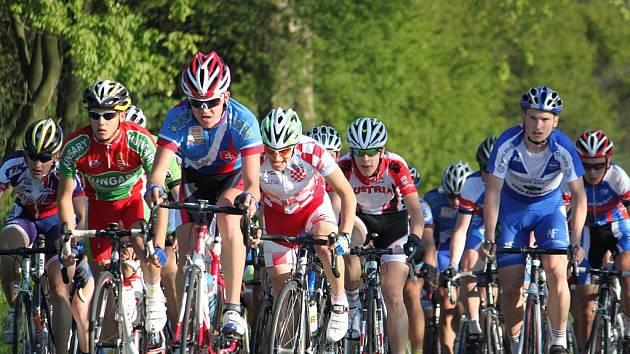 Více než 190 kilometrů museli absolvovat účastníci 35. ročníku Grand Prix Matoušek – Závodu míru nejmladších.