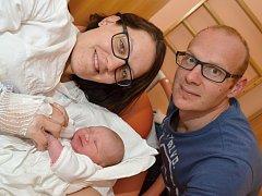 MAGDALÉNA KŘIVINKOVÁ. Narodila se 30. dubna Daniele a Alešovi ze Svitav. Měřila 50 centimetrů a vážila 3,2 kilogramu.