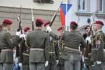 Střední vojenská škola v Moravské Třebové slavila 75 let od založení. Své umění předvedla i Hradní stráž Pražského hradu.