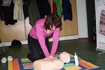 Kateřina Krausová vedla v Krůčku kurz první pomoci. Maminkám se snažila vyvrátit mýty, které panují.