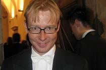 Stále rozzářený flétnista Petr Veverka je litomyšlský rodák