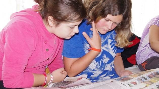 REDAKTOŘI školního časopisu Třesk z Morašic se v minulých dnech zdokonalovali  v Budislavi.