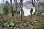 Židovský hřbitov v Litomyšli.