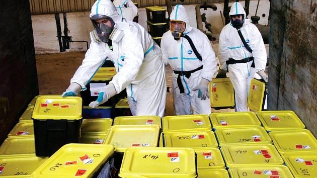 Bezepčně uložený je odpad po zásahu pracovníků Dekonty.
