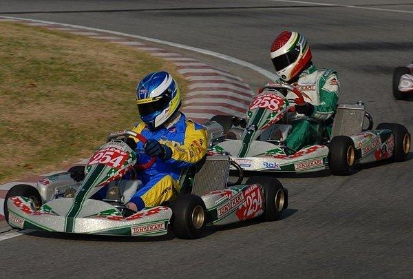 Nejlepší sezonu ve své motokárové kariéře má za sebou Martin Doubek (na snímku).