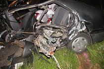 Smrtelná nehoda mladé řidičky u Moravské Třebové.