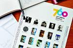 Sada 25 známek k výročí města Svitavy