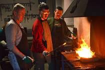 Kovářský workshop ve svitavském muzeu.