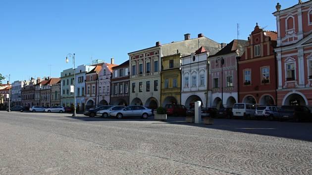 Litomyšlské náměstí. Ilustrační foto.