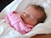 SOFIE BUDINOVÁ. Narodila se 30. června Jarmile Dvořákové a Vlastimilu Budinovi z Čisté. Měřila 48 centimetrů a vážila 2,92 kilogramu.