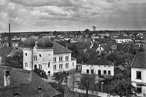Kde stála tato půvabná synagoga?