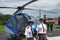 Policisté monitorovali řidiče na pětatřicítce z vrtulníku