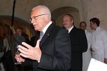 Prezident Václav Klaus zahájil 51. ročník Smetanovy Litomyšle.
