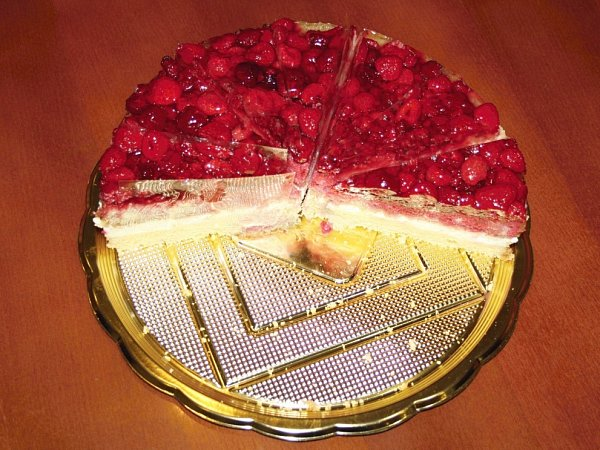 Prodavačky vpoličské Pralince se mohou pochlubit exkluzivním malinovým dortem, který nyní jasně vede před všemi ostatními.