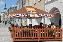 Cukrárna a kavárna U Ruměnky.