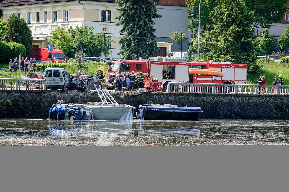 Tragická dopravní nehoda v centru Poličky