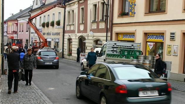 Plánovaná vyhláška omezí nádměrný provoz v historickém středu města a uleví především chodcům.