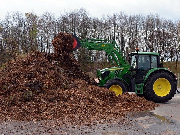 Traktor v akci