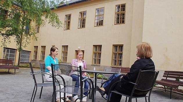 Muzejní dvorek v Poličce.