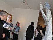 Vernisáž výstavy soch Olbrama Zoubka