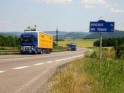 Vizualizace rychlostní silnice R35 - mimoúrovňová křižovatka Plotiště
