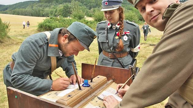 Tradiční bitva v Mladějově.