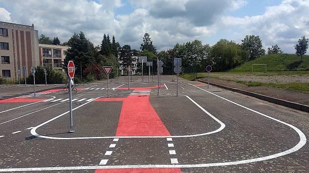 Nové dopravní hřiště je otevřené