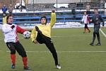I když se svitavští postarali v utkání s Boskovicemi o některé pěkné fotbalové momenty, tak na divizního soka nestačili.