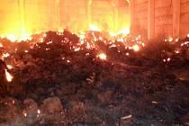 Požár v Jedlové