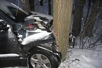 U Budislavi havarovala ve středu řidička s vozem Suzuki