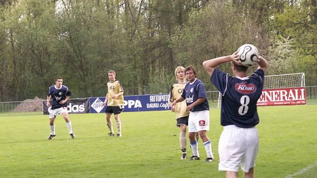 Letohrad B uhrál doma remízu s Moravskou Třebovou.